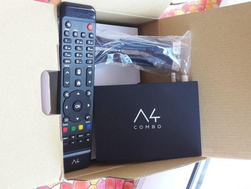 Amiko A4 COMBO HD DVB-S2/T2/C S905 1GB/8GB Android